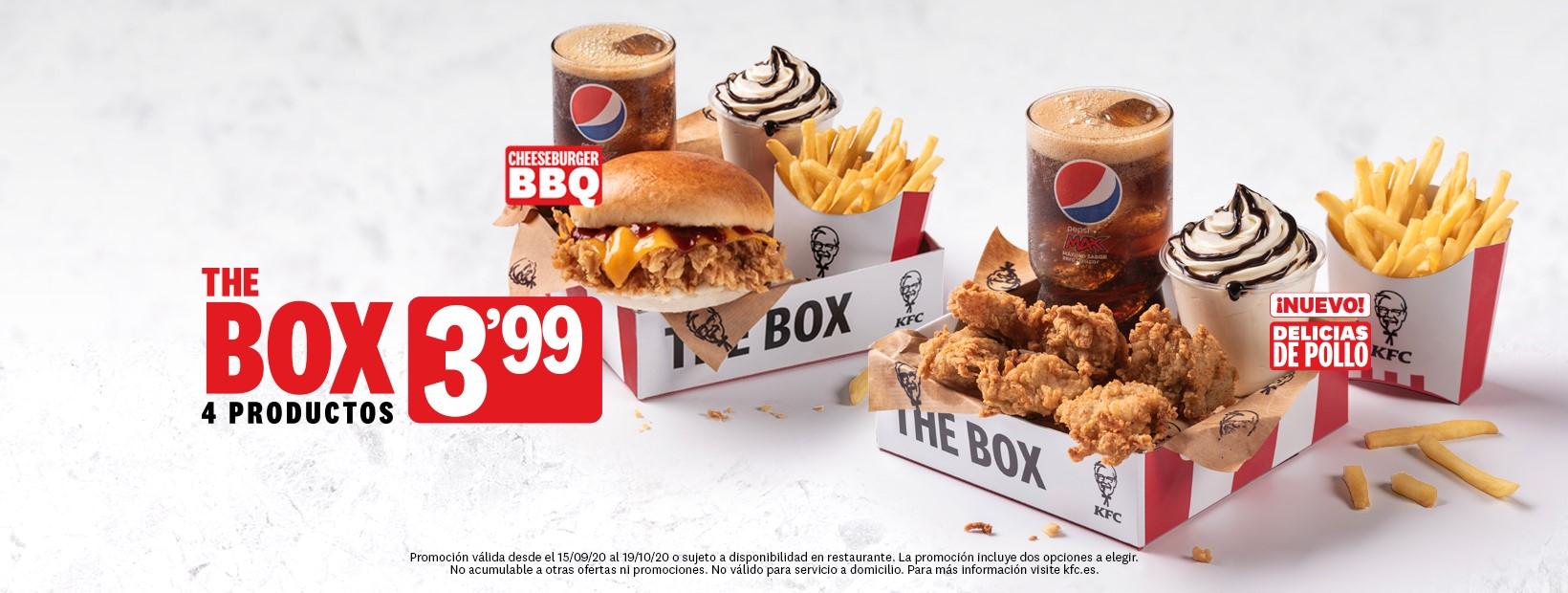 Tu box con KFC