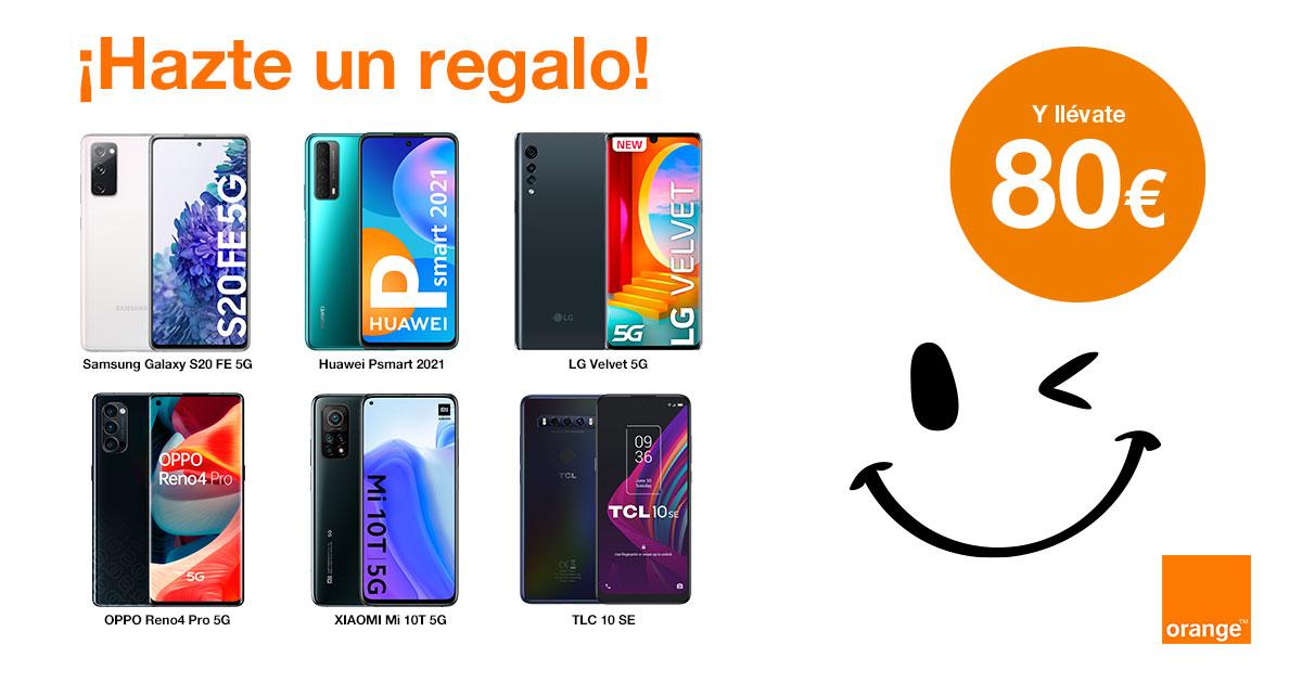 Tu nuevo móvil en Orange.