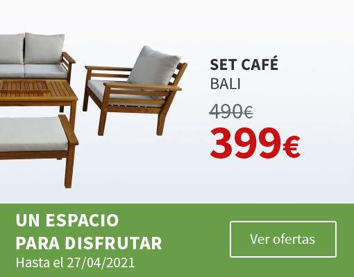 Tus muebles de jardín en Carrefour.