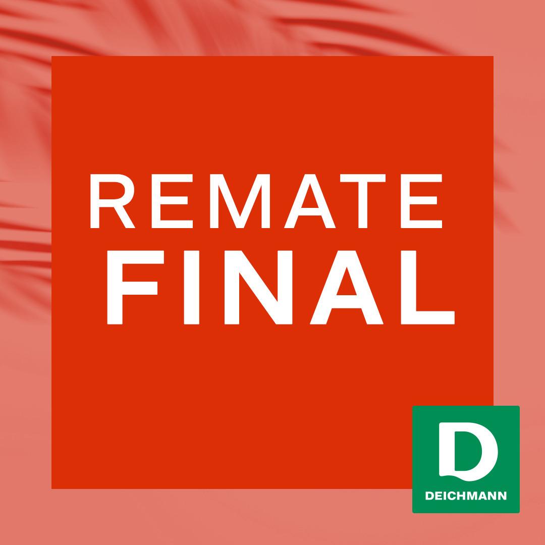 Remate final en Deichmann.