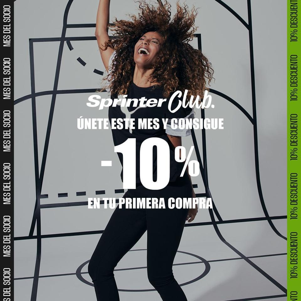 Únete a Sprinter Club.