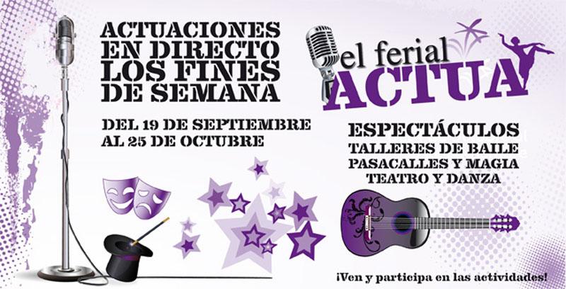 El Ferial Actua - Septiembre y Octubre 2014