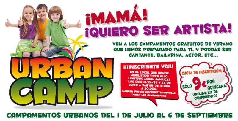 Urban Camp: Campamentos Urbanos