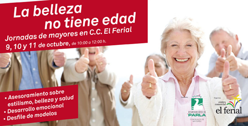 Jornada de mayores en C.C. El Ferial
