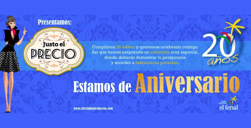 El Centro Comercial El Ferial cumple 20 años