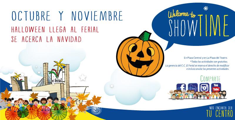 Showtime El Ferial en Octubre y Noviembre