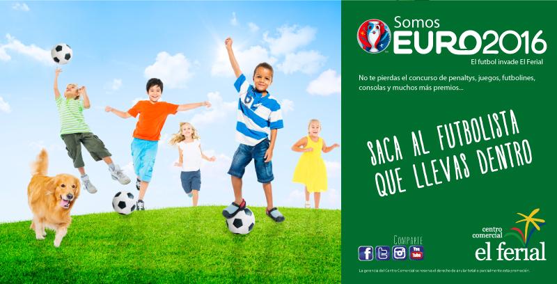 Somos Euro2016. El fútbol invade El Ferial