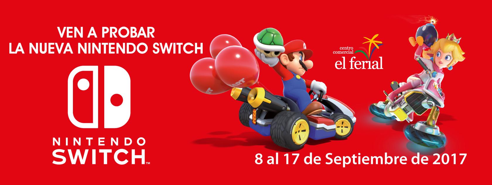 Ven a probar la nueva Nintendo Switch