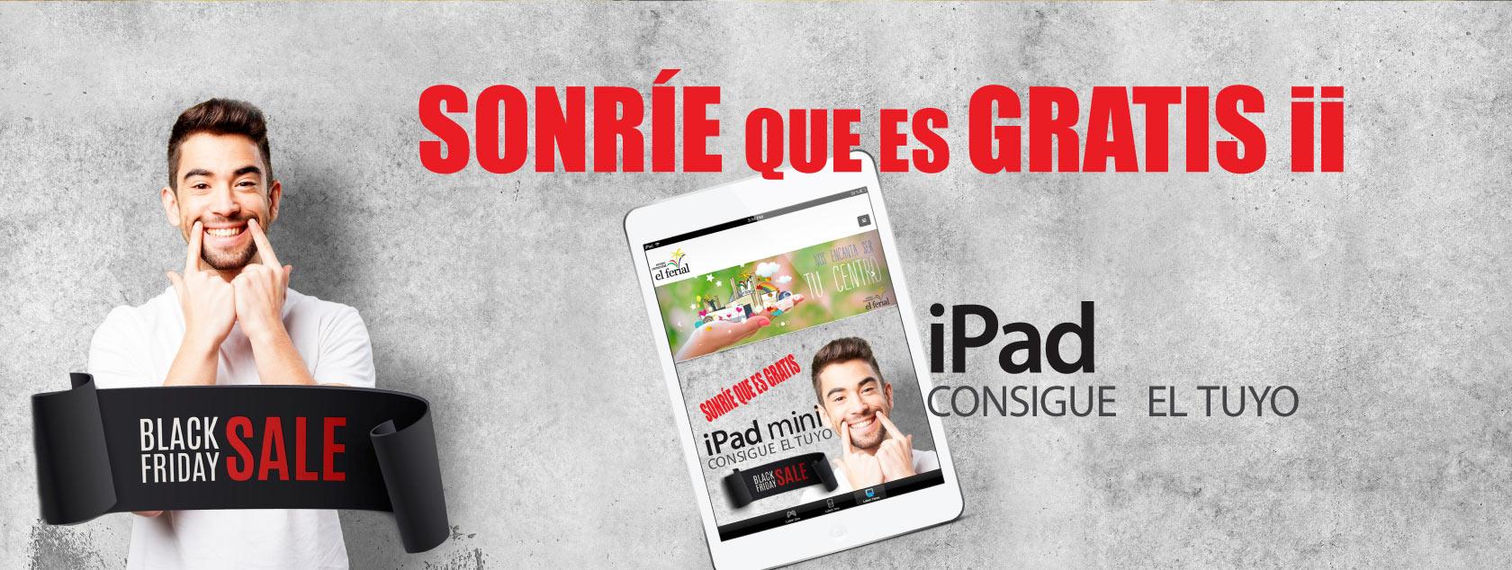 Gana un iPad con CC El Ferial