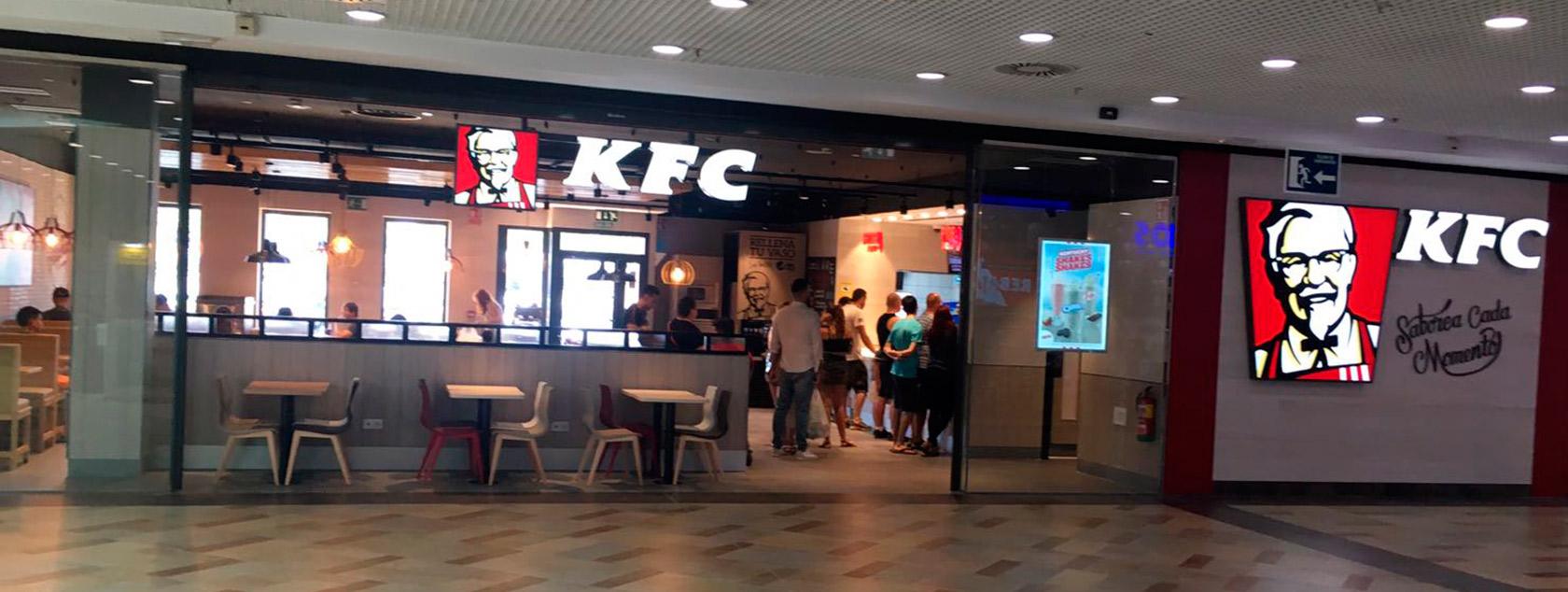 Apertura de KFC en CC El Ferial