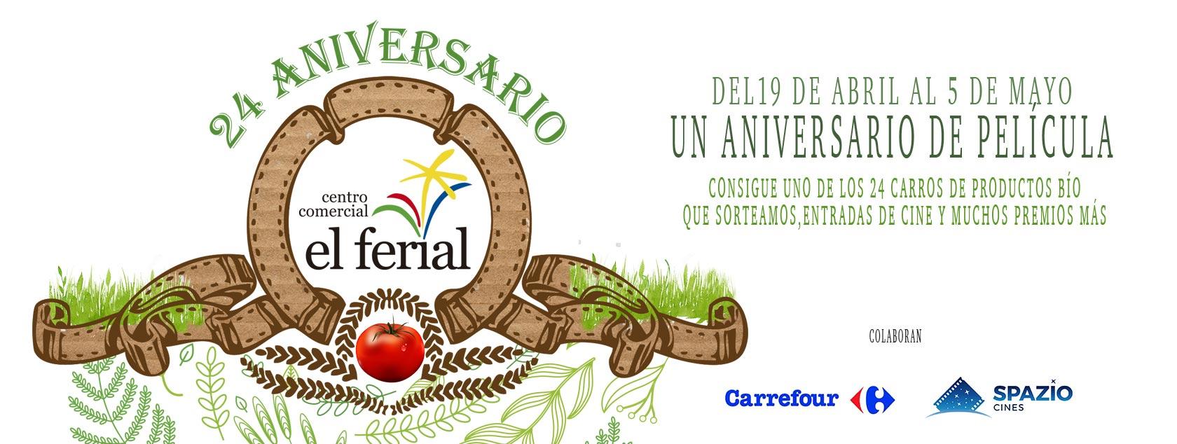 24 Aniversario en el Centro Comercial El Ferial