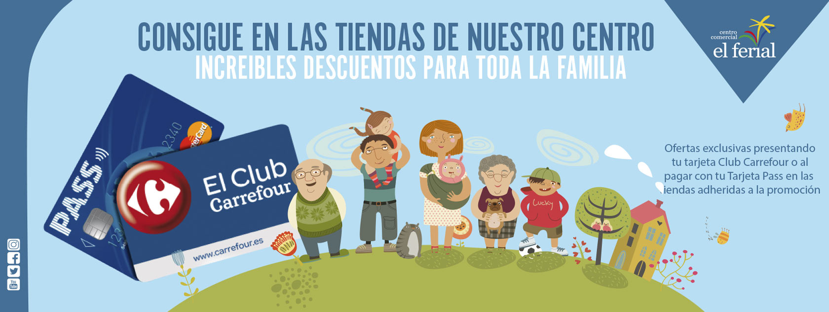 Ofertas exclusivas con tu tarjeta Club Carrefour o PASS