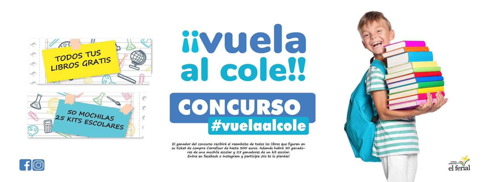 Concurso 'Vuela al Cole 2020'