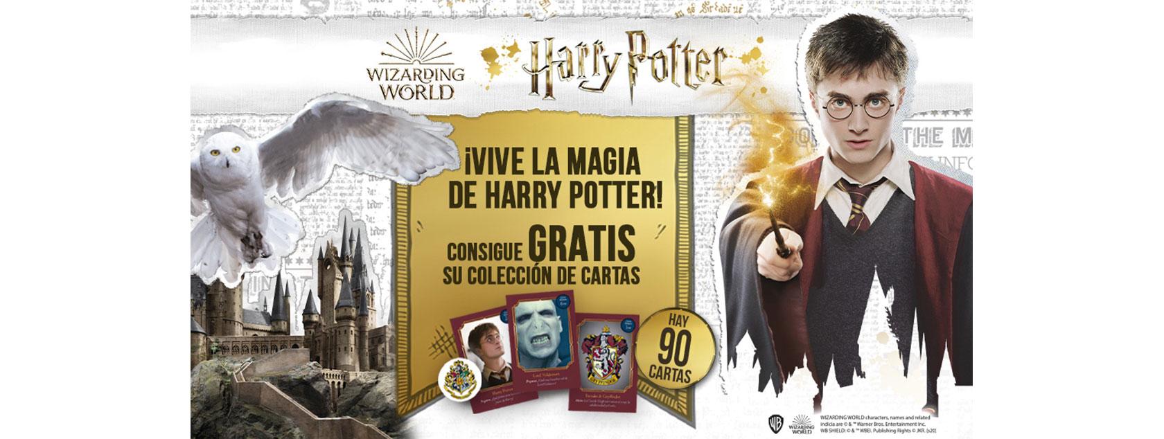 ¡Vive la magia de Harry Potter!