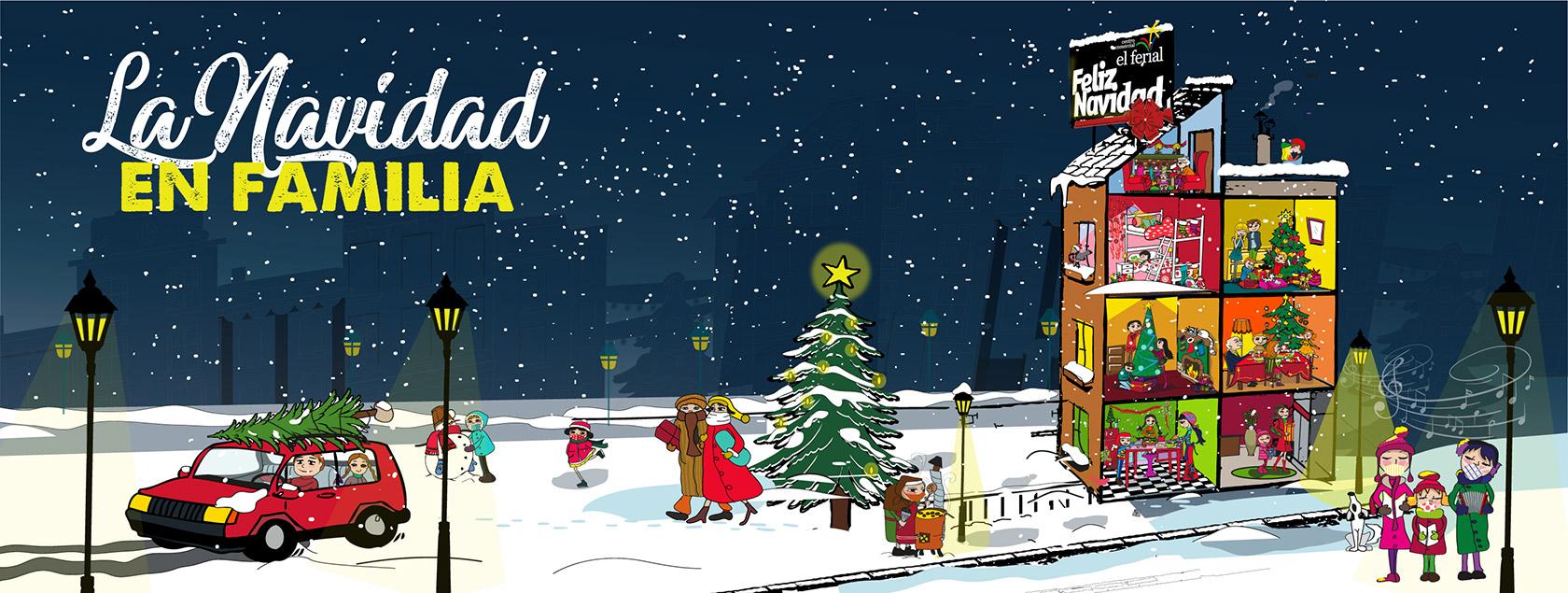 Navidad 2020 en CC El Ferial