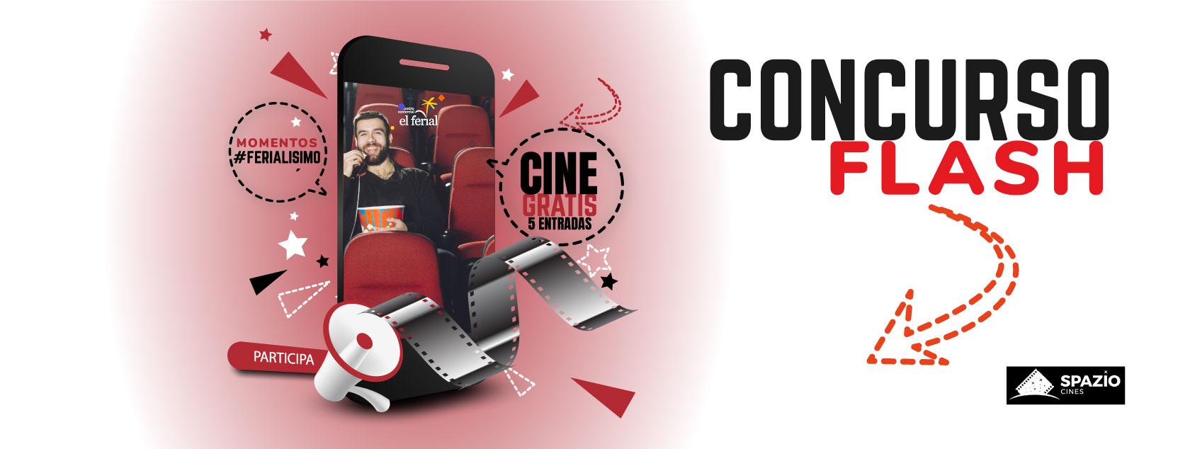 Ganadores Concurso Flash. 5 entradas de cine