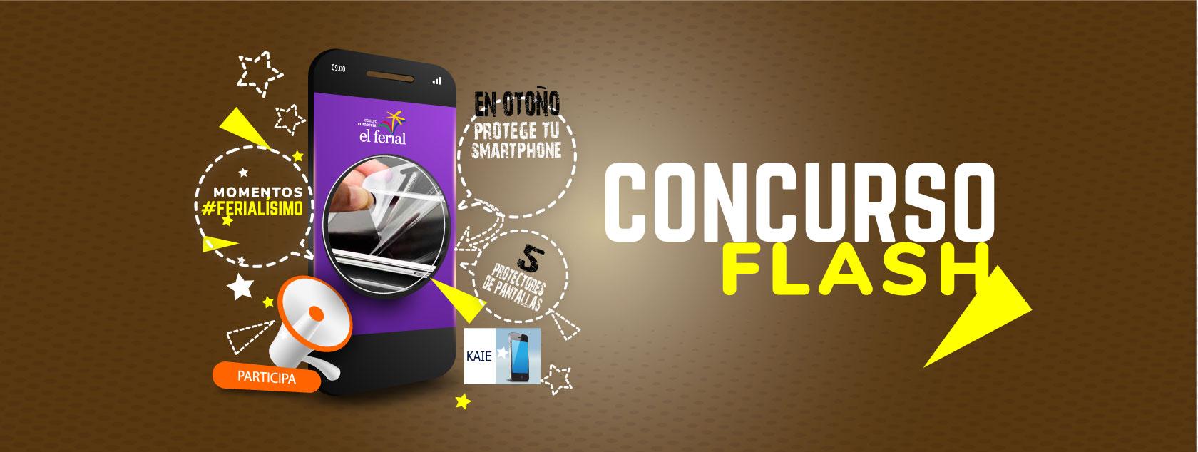 Concurso Flash. Regalamos 5 protectores de pantalla