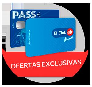 Ofertas exclusivas Tarjeta PASS