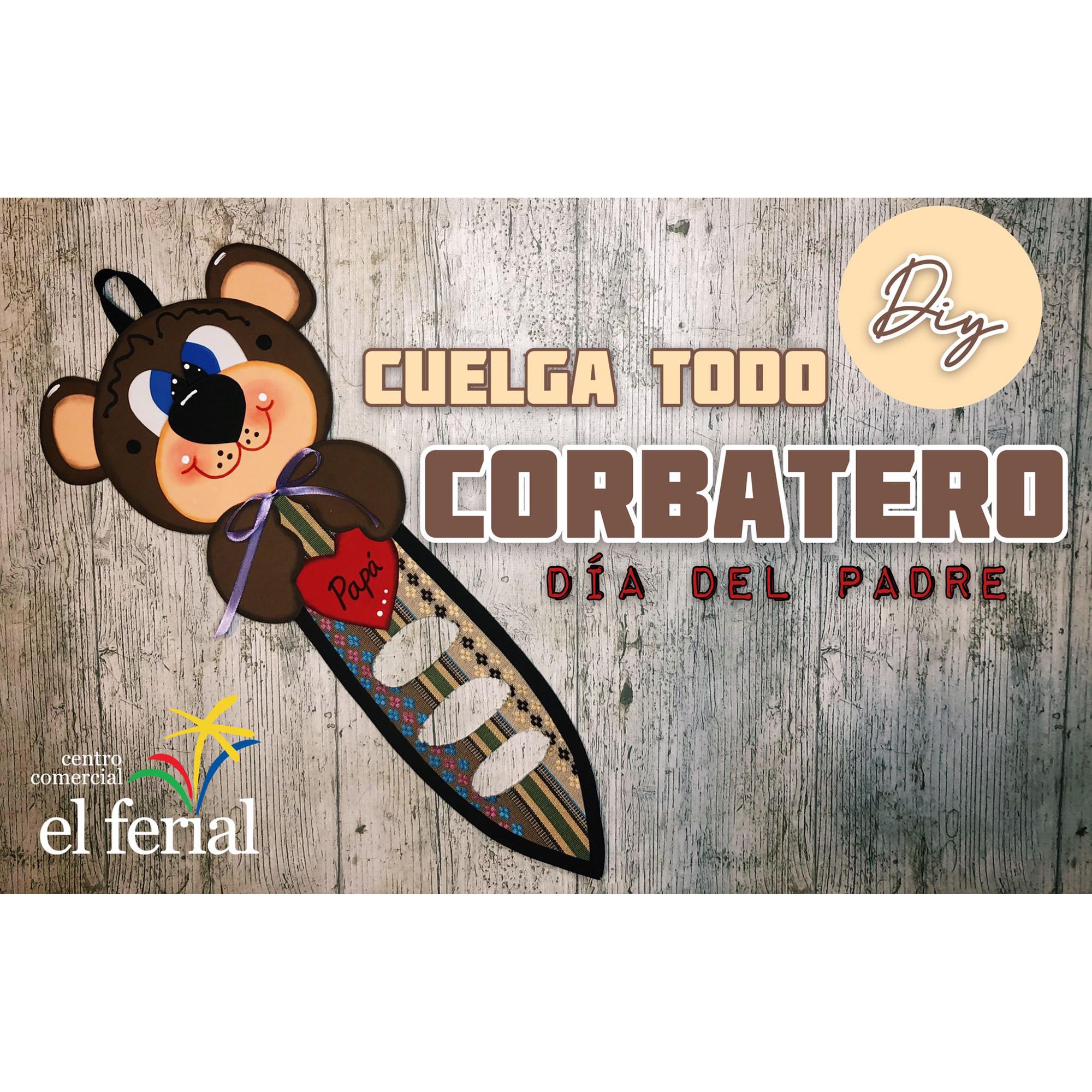 Taller DIY 13/03/2021: Corbatero