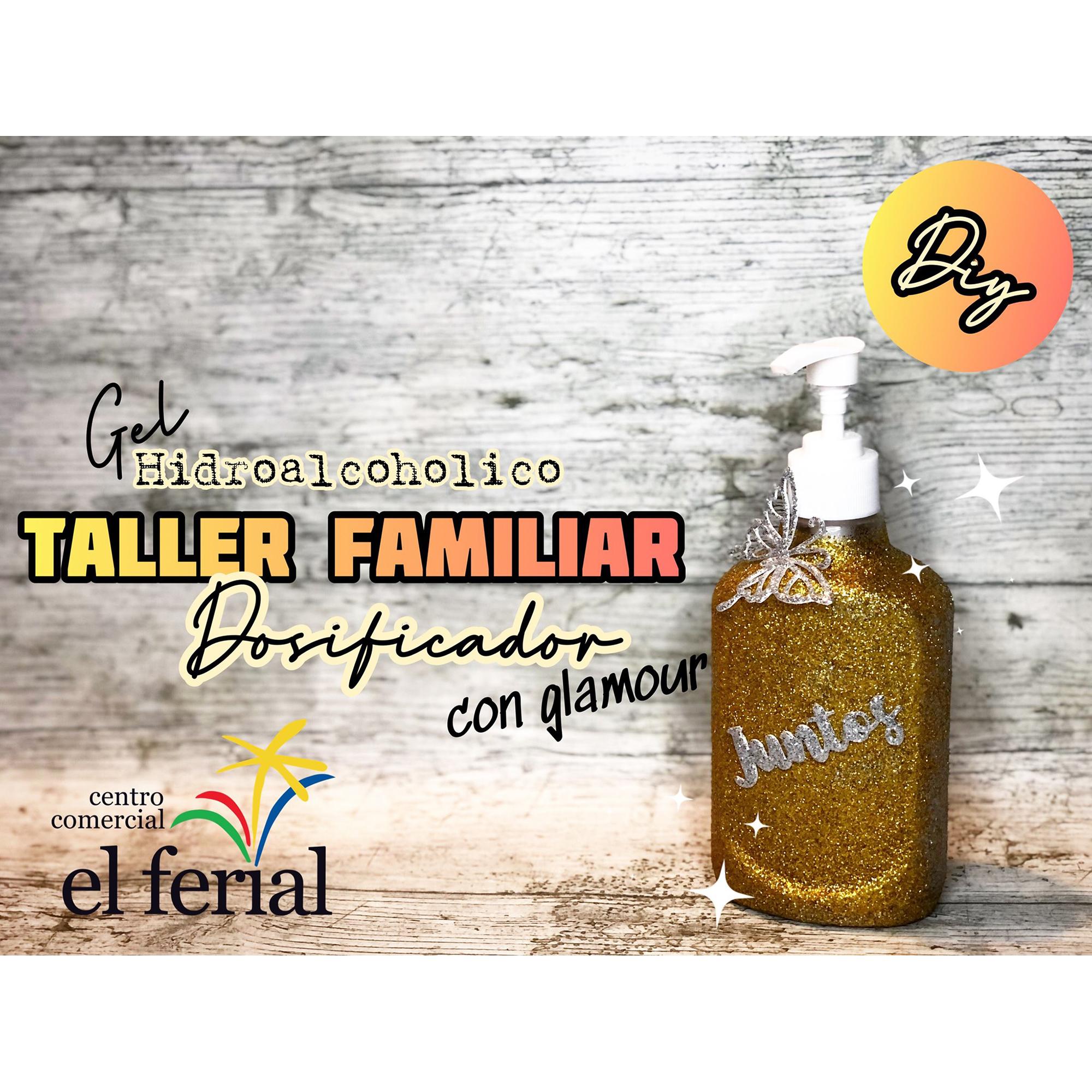 Taller DIY 03/04/2021: Dosificador gel hidroalcohólico