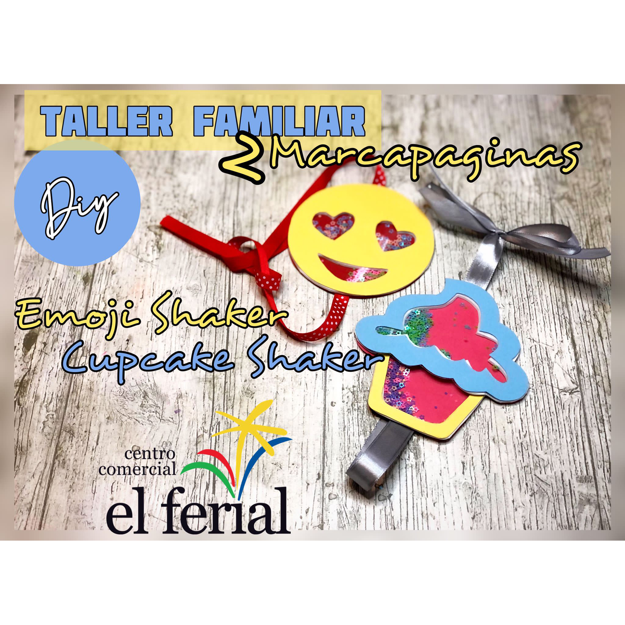 Taller DIY 17/04/2021: Marcapáginas