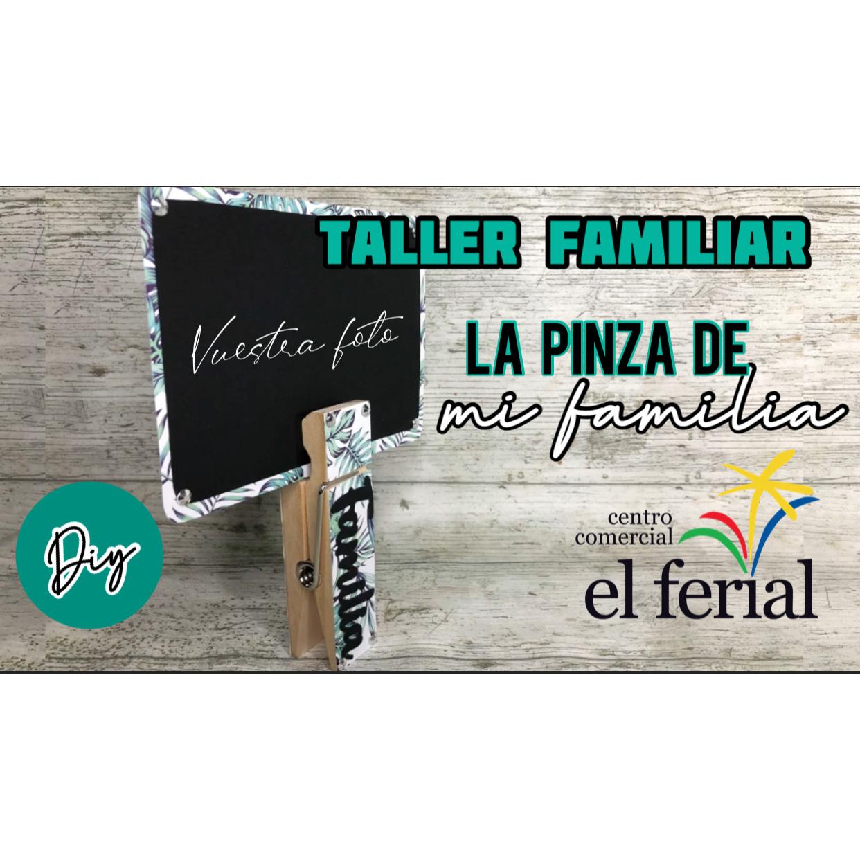 Taller DIY 08/05/2021: Pinza familia