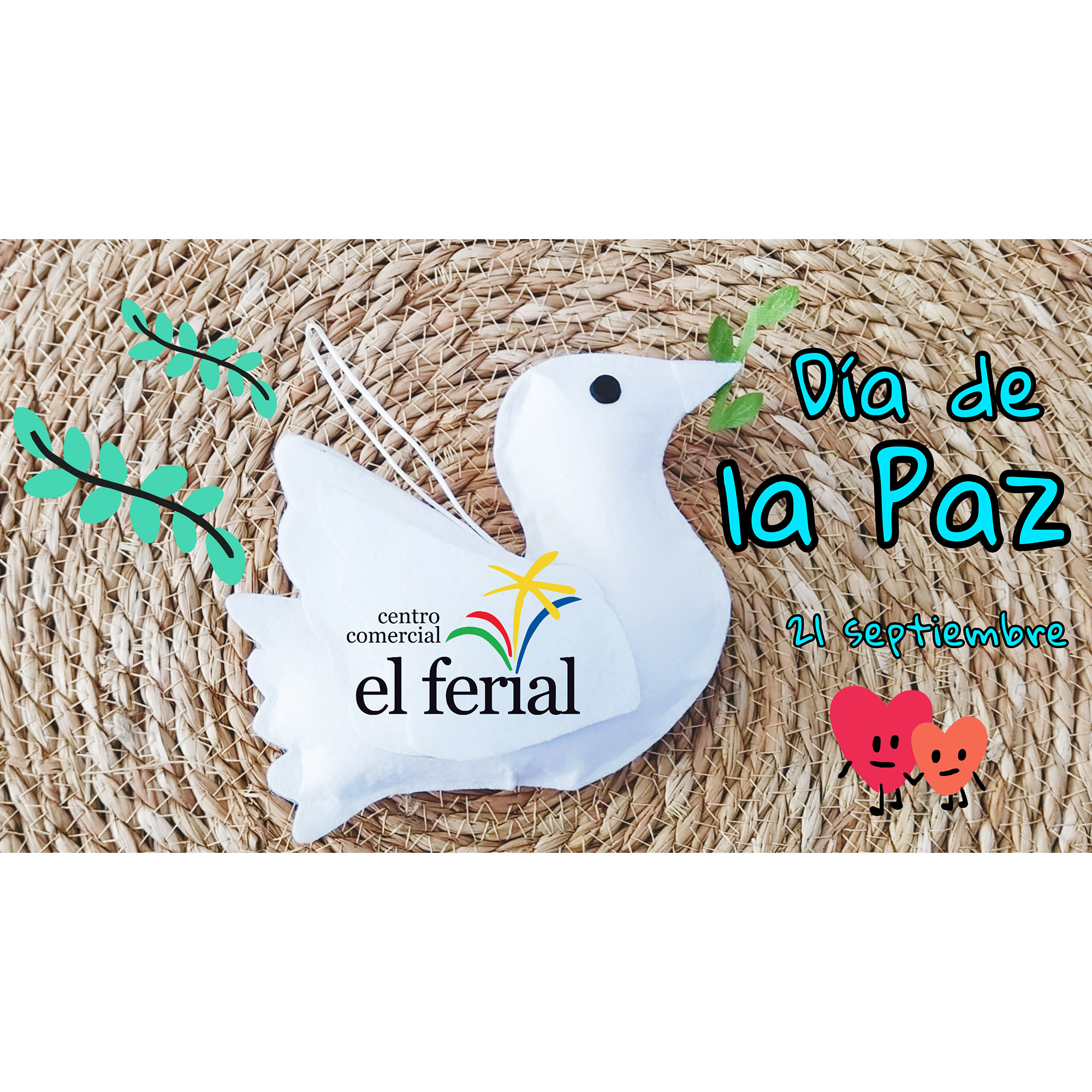 Taller DIY 18/09/2021: Paloma de la Paz