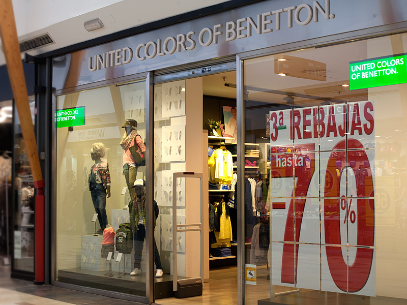 Benetton (escaparate)
