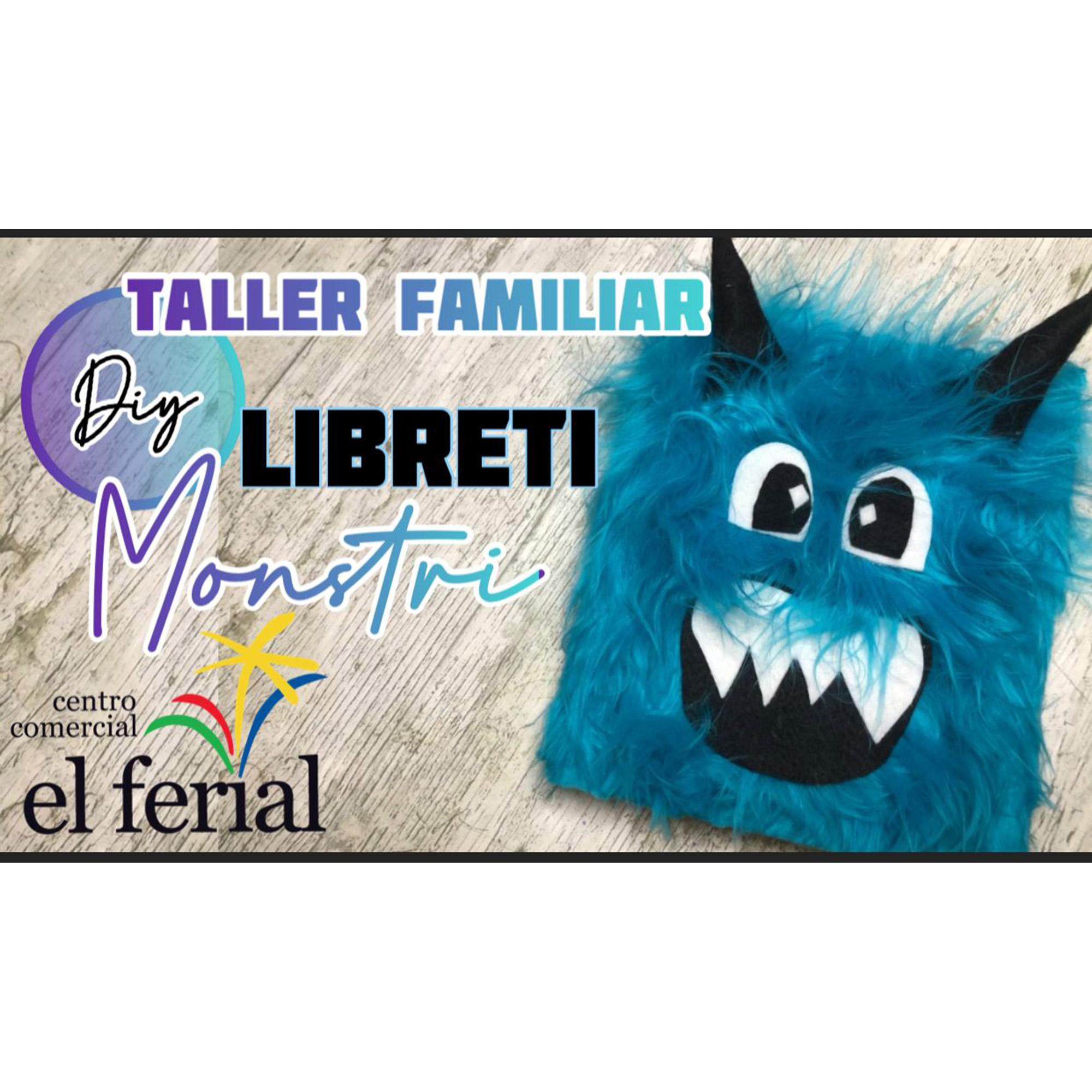 Taller DIY 25/09/2021: Libreti Monstri