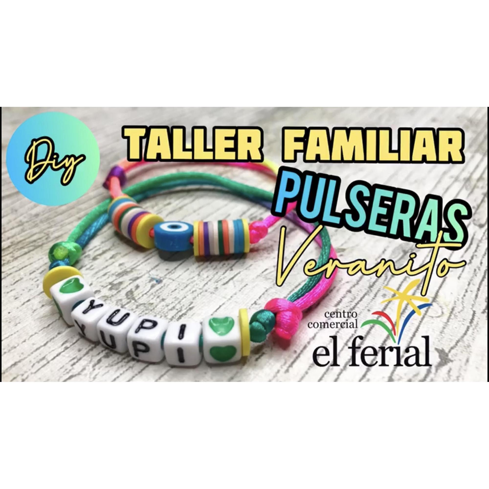 Taller DIY21/08/2021: Pulseras de moda