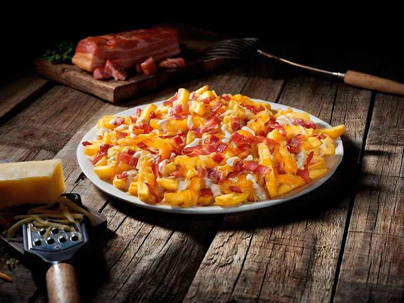 Fosters Hollywood - BACON and CHEESE FRIES