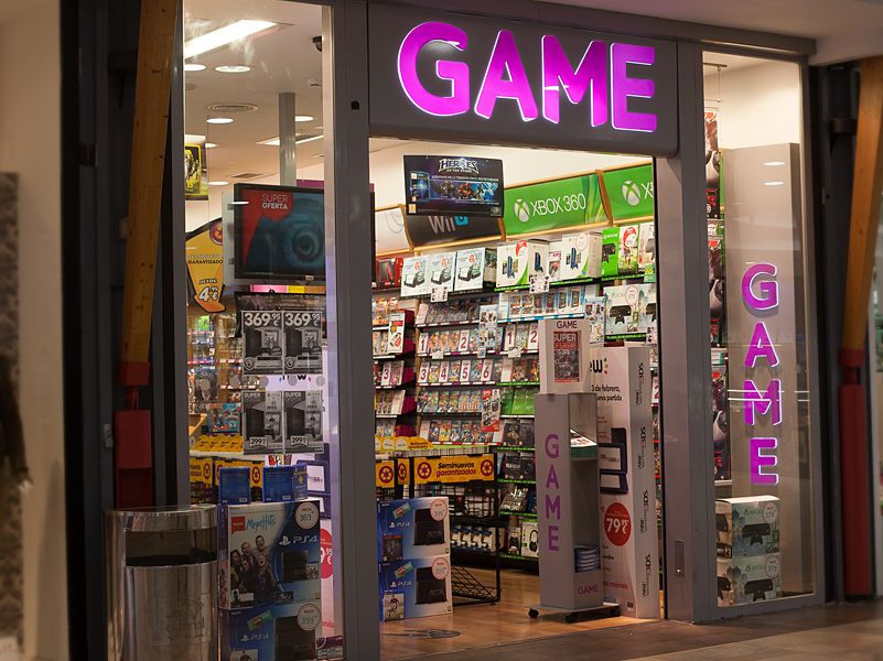 GAME (escaparate)