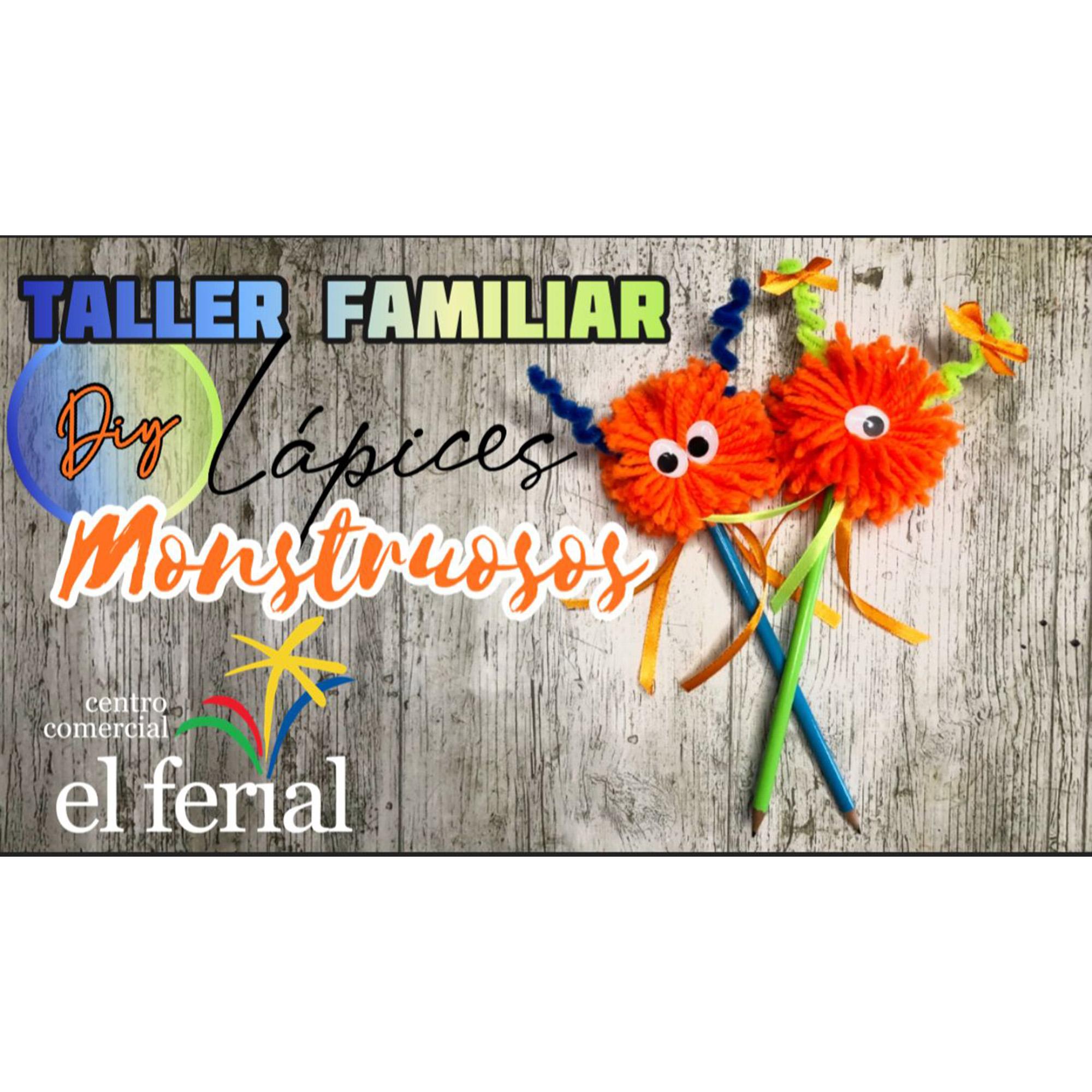 Taller DIY 11/09/2021: Lápices monstruosos