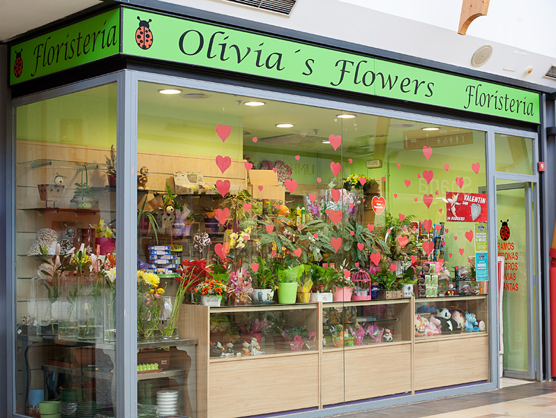 Olivias Flowers (escaparate)