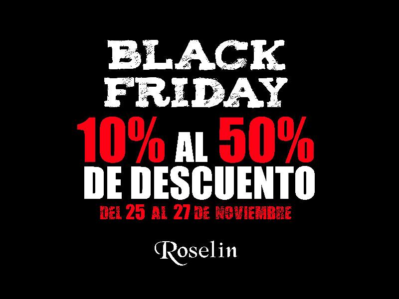 Roselin Joyeros Black Friday 2016