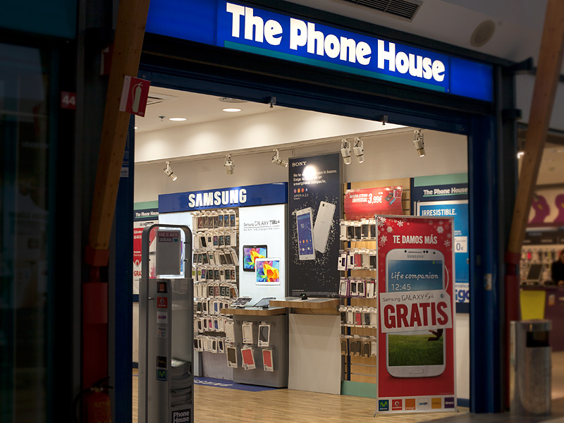 The Phone House (escaparate)