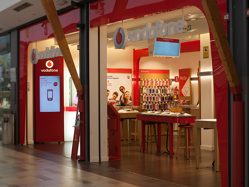 Vodafone (escaparate)