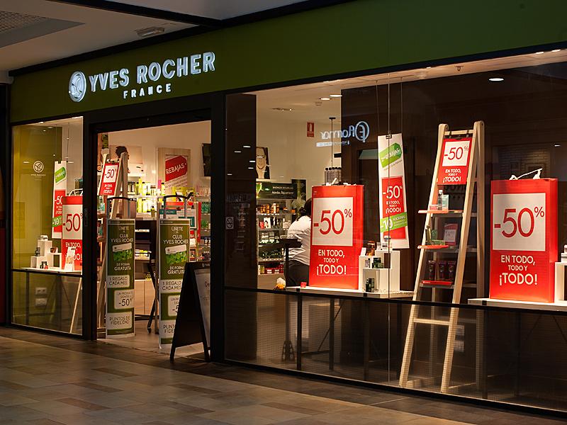 Yves Rocher (escaparate)
